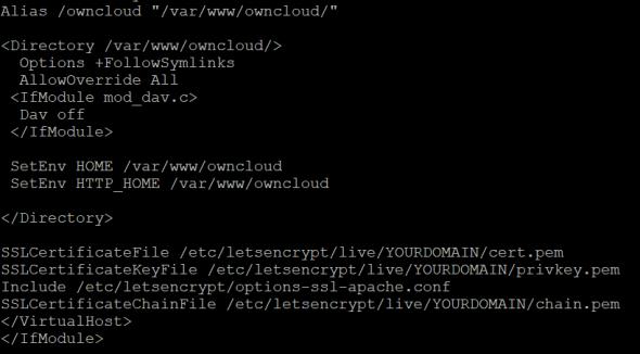 OwnCloud auf SSL umstellen inkl. Windows und MacOS Client